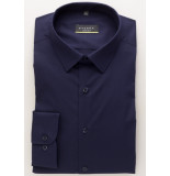 Eterna Overhemd stretch poplin kent superslim fit