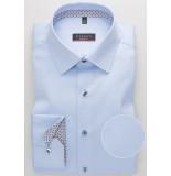 Eterna Overhemd cover shirt grijs print contrast kent modern fit