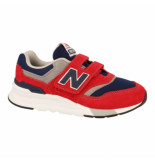 New Balance Klittenband schoenen rood
