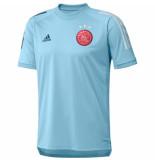 Adidas Ajax trainingsshirt 2020-2021 iceblue