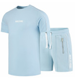 Malelions Thies twinset blauw