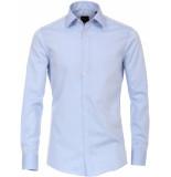 Venti Heren overhemd hemels poplin non iron modern fit