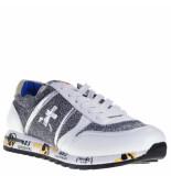Premiata Sneakers wit zilver