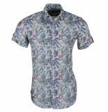 Ferlucci heren korte mouw overhemd torino jungle