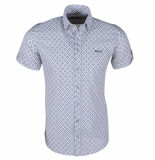 Ferlucci heren korte mouw overhemd torino -