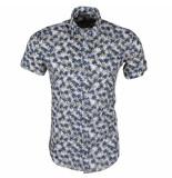 Ferlucci heren korte mouw overhemd torino palm