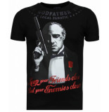 Local Fanatic Godfather rhinestone t-shirt