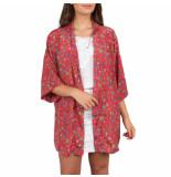 Sissel Edelbo Lotus short kimono roze