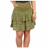 Sissel Edelbo Suleima silk mini skirt