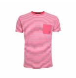 Eagle & Brown T-shirt streep