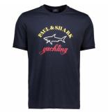 Paul&Shark T-shirt shark logo
