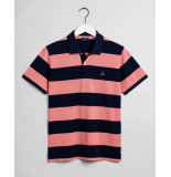 Gant Poloshirt pique rugger barstripe regular fit