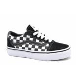 Vans Yt ward checkered zwart