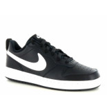 Nike Court borough low zwart