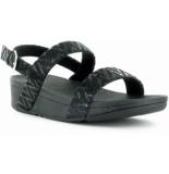 FitFlop Lottietm chevron-suede sandal