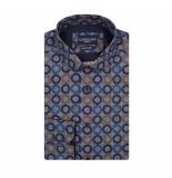 Cavallaro Blauwe overhemd