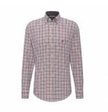 Fynch-Hatton Fynch-hatton shirt multicolor combi