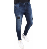Gabbiano Ultimo d.blue destroyed jeans