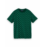 Scotch & Soda T-shirt stretch with allover print 159837 0222
