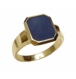Christian Cachet ring met lagensteen