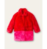 Oilily Cheerful fake fur jas-