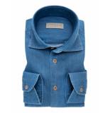 John Miller Heren overhemd denim widespread tailored fit