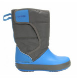 Crocs Snowboot lodgepoint kids slate grey ocean