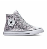 Converse All stars chuck taylor 669249c zilver / roze