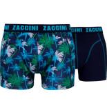 Zaccini 2-pack boxershorts palm -