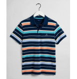Gant Polo km d2. multi stripe