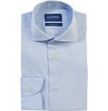 Lavendi Overhemd tomasso twill egyptisch katoen cutaway slim fit