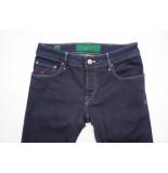 Handpicked 5-pocket comfort denim str wash