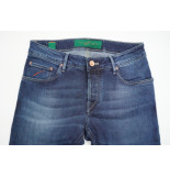 Handpicked 5-pocket comfort denim str.wash