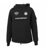 Black Bananas Kids f.c anorak fleece jacket