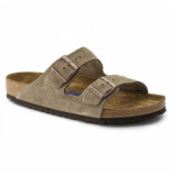 Birkenstock Slipper unisex arizona sfb taupe regular