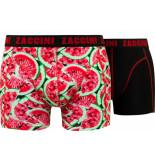 Zaccini 2-pack boxershorts melone -