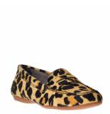Tube Dames mocassins leopard