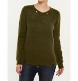 Numph Lysippe Pullover groen
