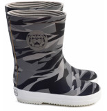 Boxbo Rainboots naute, camouflage- grijs