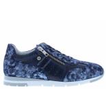 Wolky Damesschoenen van type sneakers yell storm 0252549 800 blue van leer