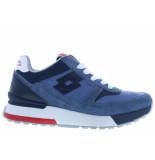 LOTTO Herenschoenen van type sneakers tokyo ginza moonlight blue van nubuck