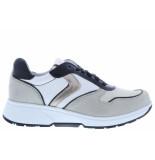 Xsensible Damesschoenen van type sneakers berlin 30202.2 105 off white van leer