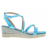 Kanna Damesschoenen van type sandalen 20340 smeraldo van leer