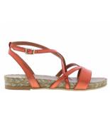 Kanna Damesschoenen van type sandalen 20115 minio van leer