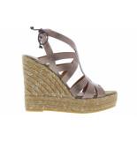 Kanna Damesschoenen van type sandalen 20090 marrakech van leer