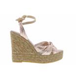 Kanna Damesschoenen van type sandalen 20086 cipria van leer