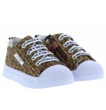 Shoesme Meisjesschoenen van type sneakers sh20s004-e leopardo van leer