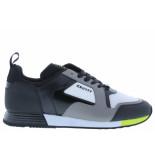 Cruyff Herenschoenen van type sneakers lusso dk grey fluo yel van technisch