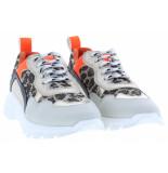 Clic! Meisjesschoenen van type sneakers 20115 offwhite platino van leer