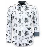 Tony Backer Overhemden bloemen print